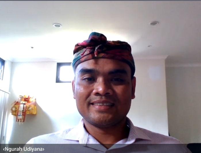 KEPALA Seksi Aplikasi Informatika Diskominfos Provinsi Bali, I Gusti Ngurah Puspa Udiyana. Foto: ist