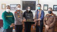 BUPATI Tamba bersama jajaran Forkopimda Jembrana menerima kunjungan Komisaris Utama Pertamina Basuki Tjahaja Purnama alias Ahok pada Selasa (12/10/2021). Foto: ist