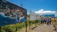 MASTER plan kelistrikan yang disiapkan PT PLN (Persero) melalui Unit Induk Nusa Tenggara Barat untuk menyuplai pasokan listrik di kawasan Mandalika, Lombok Tengah. Foto: rul