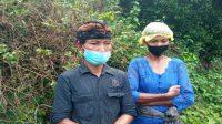 POLRES Karangasem telah menetapkan ayah Kadek Sepi, Nengah Kicen (kiri) sebagai tersangka atas kematian Sepi. Foto: net