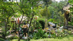 SUASANA asri dan alami menjadi daya tarik Pade Wareg Eco Park. Foto: adi